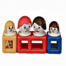MOBILO WHITE FAMILY - 7 PCES