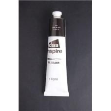 DAS INSPIRE OIL PAINTS - 170ML - LAMP BLACK