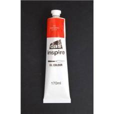 DAS INSPIRE OIL PAINTS - 170ML - CADMIUM RED