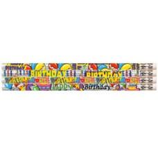 Birthday GLITZ Pencils 10's MP361