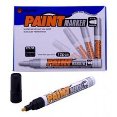 MUNGYO MEDIUM PAINT MARKERS BLACK