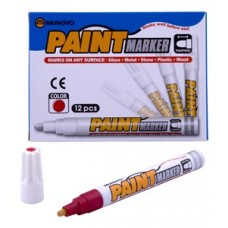 MUNGYO MEDIUM PAINT MARKERS RED