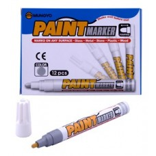 MUNGYO MEDIUM PAINT MARKERS SILVER