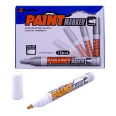 MUNGYO MEDIUM PAINT MARKERS WHITE