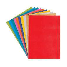 VINYL A4 SHEETS 10 PACKET ASSORTED