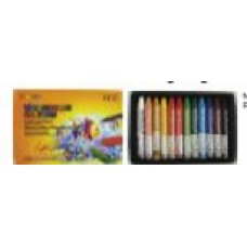 MUNGYO ECONOMY WATER SOLUBLE CRAYONS 12's