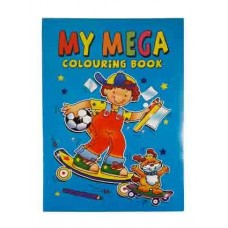 MEGA COLOURING BOOK 120pg