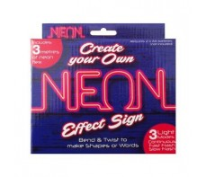 MAKE YOUR OWN NEON SIGN SET