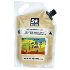 FIVE STAR NZACRYL ACRYLIC PAINT POUCH 1.5L - FLESH