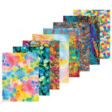 ARTY PATTERN PAPERS A4 ASST 40 SHEETS