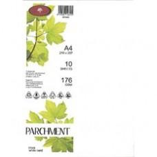 PARCHMENT CARD - 176GSM - NOVA WHITE - 100'S