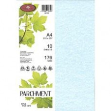 PARCHMENT CARD - 176GSM - SIRIUS BLUE - 100'S