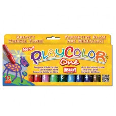 PLAYCOLOR ONE PAINT STICKS - STD - SET 12