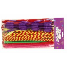ASSORTED SHAPES PIPE CLEANERS - 200's