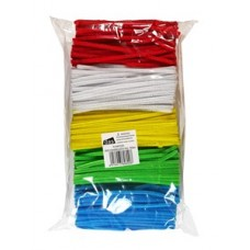 HALF SIZE PIPE CLEANERS - 15CM - 1000 - ( 5 COLOURS )