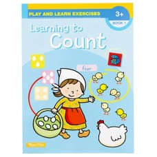 LEARNING TO COUNT - BOOK 1 - AGE 3 +