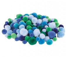 POM POMS COOL COLOURS 300'S