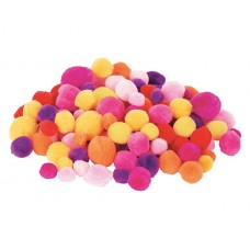 POM POMS WARM COLOURS 300'S