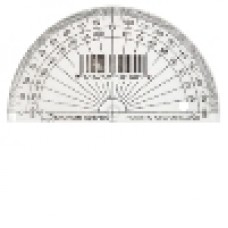 PROTRACTOR - 10CM - 180 DEGREE