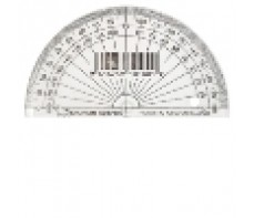 PROTRACTOR 10CM 180 DEGREE