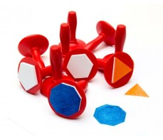 PAINT STAMPERS - GEOMETRIC SHAPES SET 10