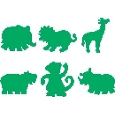 PAINT STAMPERS - JUNGLE ANIMALS