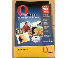 INKJET PHOTO PAPER A4 MATT 100GSM BOX 100 (CLEARANCE)