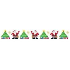 Regular Border - Christmas Tree RB596