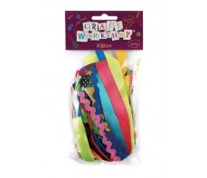 CRAFT RIBBON ASSORTED PACK