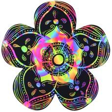 SCRATCH ART FLOWERS - PKT 12