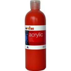 Student Acrylic Fas 1 Litre Crimson