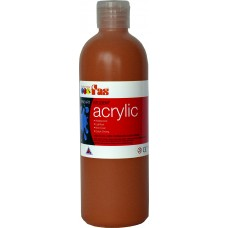 Student Acrylic Fas 1 Litre Burnt Sienna