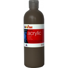 Student Acrylic Fas 1 Litre Burnt Umber