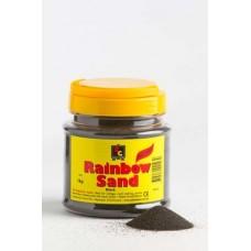 COLOURED SAND - BLACK - 1KG TUB