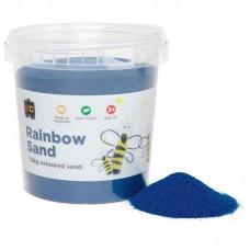 COLOURED SAND - BLUE - 1.3KG TUB