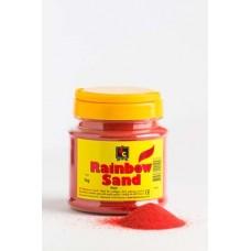 COLOURED SAND - RED - 1KG TUB