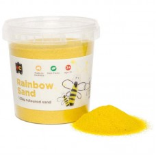 COLOURED SAND - YELLOW - 1.3 KG TUB (PLEASE NOTE O/S UNTIL MID-LATE  JUNE)