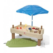 ADJUSTABLE SAND AND WATER TABLE