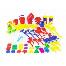 SAND AND WATER CLASSROOM SET - 60 PCES