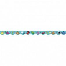 SCALLOPED BORDER - SEA CREATURES - SB516