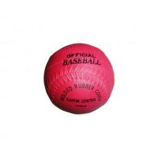 HARD KAPOK CENTRE T BALL / BASEBALL - RED