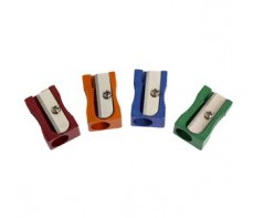 PLASTIC PENCIL SHARPENERS SINGLE HOLE