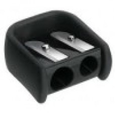 FABER CASTELL Rubber 2 Hole Pencil Sharpener