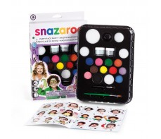 SNAZAROO ULTIMATE PATY PACK PALETTE FACE PAINT SET