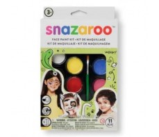 SNAZAROO PALETTE KIT UNISEX FACE PAINTS