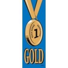 SELF ADHESIVE RIBBONS - GOLD - 100'S - SR705