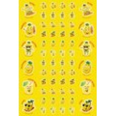 Scentsations Stickers - Pineapple 180's SS1012