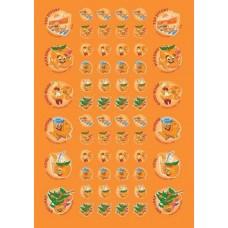 Scentsations Stickers - Mandarin 180's SS1014