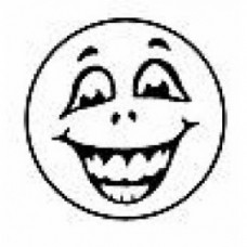 MERIT STAMPERS - LAUGHING FACE - ST1221