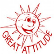 MERIT STAMPERS - GREAT ATTITUDE - ST1243